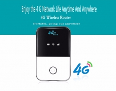 4G LTE Wireless Portable Pocket wi fi Mobile Hotspot Car Wi-fi Router With Sim Card Slot