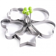 Stainless Steel Omelette Egg Frying Mold Ring Pancake Fried Mould Cooking Tool