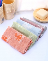 Valentines gift 5Pcs Facial Cleansing Towel Silky Fiber Smooth Multi Function Beauty Tools random onesize