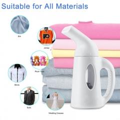 SimFun Hand Ironing Machine Mini Portable 220V Lightweight Multi-Function Garment Steamer EU Plug white