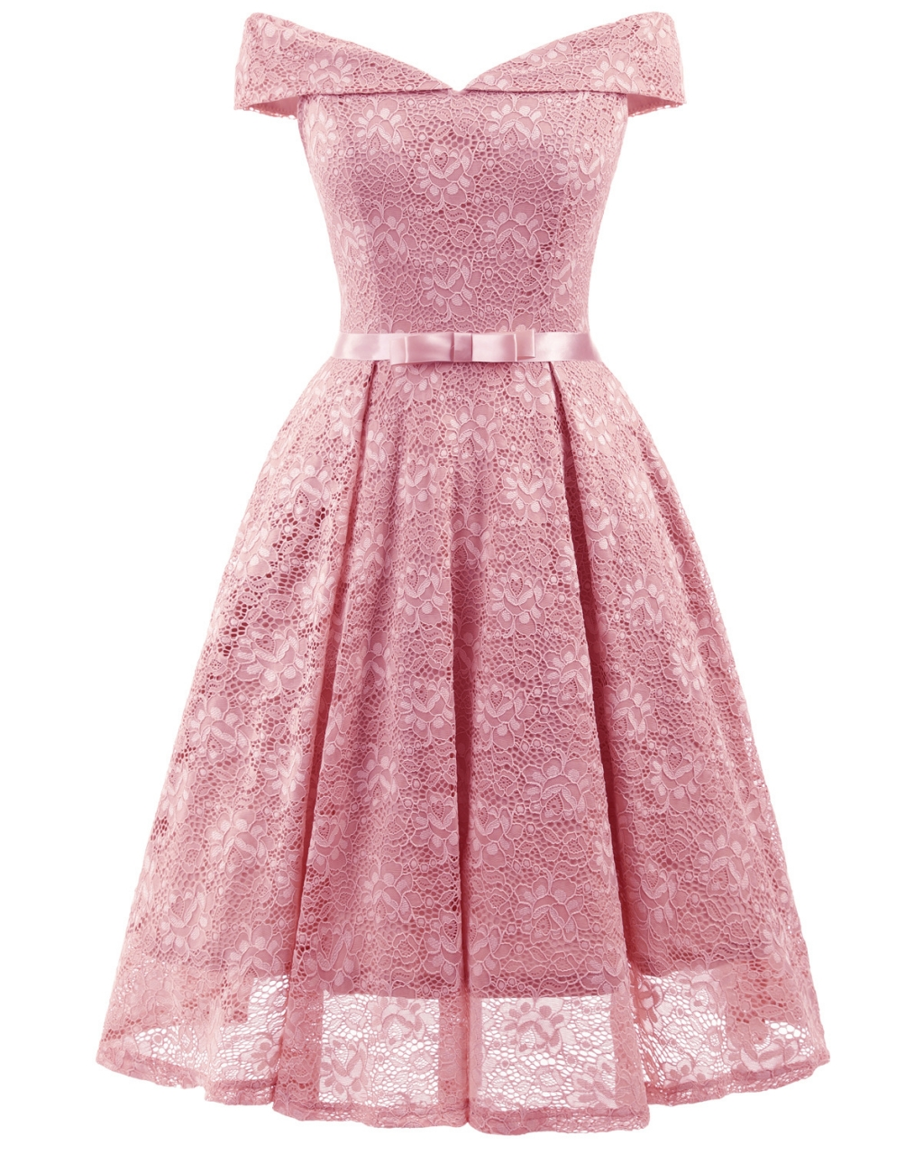 9579be398bf lady backless slash neck large swing bow lace dress vintage dress ...