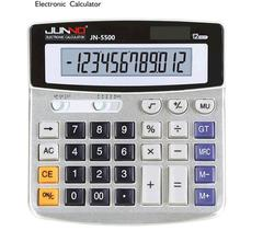 12-bit large-screen solar energy calculator for multi-functional financial office supplies