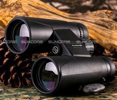 12X42 binoculars high-power high-definition telescope low-light telescope black