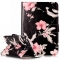 iPad Mini 3 Case, iPad Mini 2 Case,PU Leather Magnetic Closure Cover with Cash Pocket/Card Solts (Butterfly chimes) For Apple iPad Mini 1/2/3