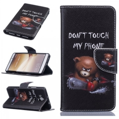 Huawei Mate 8 Case,PU Leather Wallet Flip Phone Case Cover with Stand Card Holder (Colour 9) For Huawei Mate 8