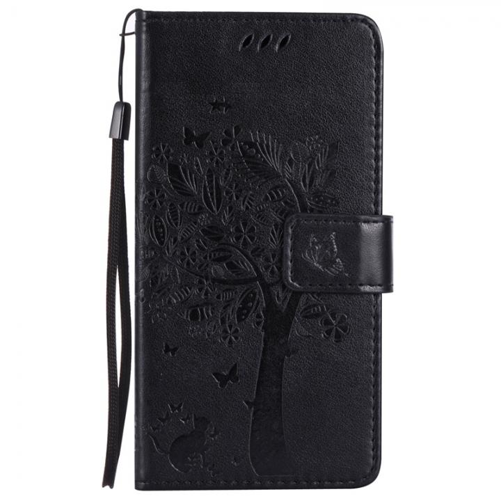 huge selection of 2ba53 8dd07 Nokia Lumia 640 Case,Premium PU Leather Flip Wallet Case Cover (black) For  Nokia Lumia 640