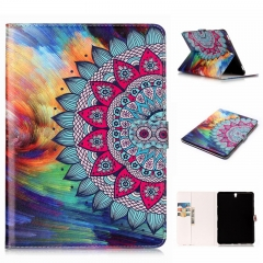 """Galaxy Tab S3 9.7 Case,PU Leather Wallet Auto Sleep/Wake for Samsung Galaxy Tab S3 9.7"""" SM-T820/T825 (pattern2 ) For Galaxy Tab S3 9.7 Inch 2017 Tablet SM-T820/T825"""