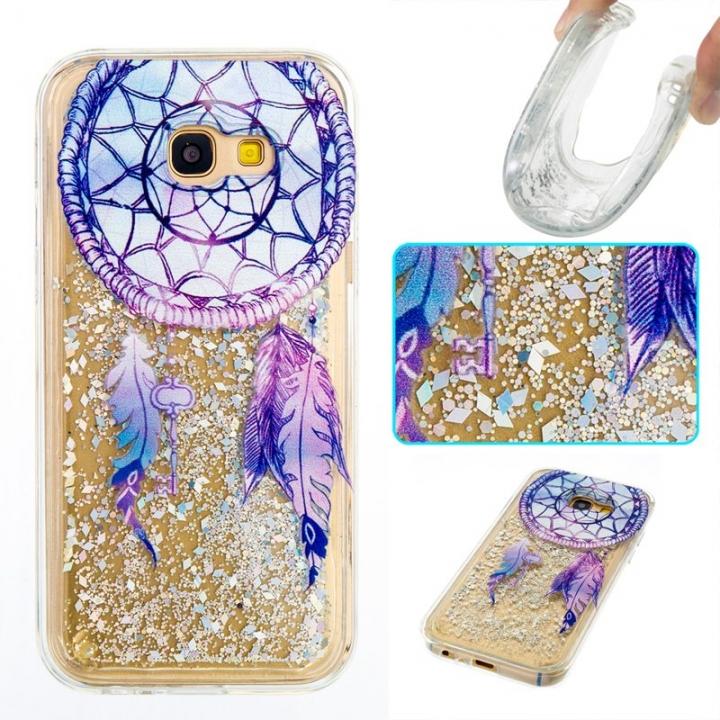 Samsung Galaxy A5 2017 Case,Liquid Quicksand Transparent Soft TPU Silicone Case  (pattern 6) For Samsung Galaxy A5 2017