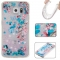Samsung Galaxy S6 Case,Liquid Quicksand Floating Clear Soft TPU Protective Cover (pattern 10) For Samsung Galaxy S6