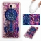 Galaxy J7 Prime / On7 2016 Case,Liquid Quicksand Transparent Soft TPU Silicone Case  (pattern 4) For Galaxy J7 Prime / On7 2016