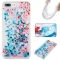 iPhone 7 plus/8 plus Case,Liquid Quicksand Floating Clear Soft TPU Protective Cover (pattern 10) For iPhone 7 plus/8 plus