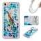 Iphone 5S 5C SE Case,Liquid Quicksand Floating Clear Soft TPU Protective Cover (pattern 6) For Iphone 5S 5C SE