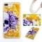 iPhone 7 plus/8 plus Case,Liquid Quicksand Transparent Soft TPU Silicone Case  (pattern 1) For iPhone 7 plus/8 plus