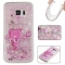 Samsung Galaxy S7 Case,Liquid Quicksand Floating Clear Soft TPU Protective Cover (pattern 8) For Samsung Galaxy S7