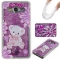 Samsung Galaxy Grand Prime G530 Case,Liquid Quicksand Floating Clear Soft TPU Protective Cover (pattern 4) For Samsung Galaxy Grand Prime G530