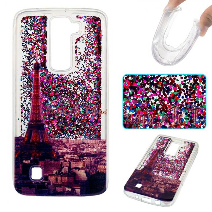 LG K7 / LG K8 Case,Liquid Quicksand Transparent Soft TPU Silicone Case  (pattern 2) For LG K7 / LG K8