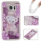 Samsung Galaxy S7 edge Case,Liquid Quicksand Floating Clear Soft TPU Protective Cover (pattern 4) For Samsung Galaxy S7 edge