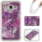 Samsung Galaxy J3/J310 Case,Liquid Quicksand Floating Clear Soft TPU Protective Cover (pattern 5) For Samsung Galaxy J3/J310