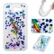 Samsung Galaxy J3 2017/J3 Prime Case,Liquid Quicksand Floating Clear Soft TPU Protective Cover (pattern 6) For Galaxy J3 2017/J3 Prime