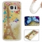 Samsung Galaxy S7 edge Case,Liquid Quicksand Floating Clear Soft TPU Protective Cover (pattern 7) For Samsung Galaxy S7 edge