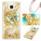 Samsung Galaxy A510/A5 2016 Case,Liquid Quicksand Transparent Soft TPU Silicone Case  (pattern 3) For Galaxy A510/A5 2016