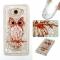 Samsung Galaxy J710/J7 2016 Case,Liquid Quicksand Transparent Soft TPU Silicone Case  (pattern 8) For Samsung Galaxy J710/J7 2016