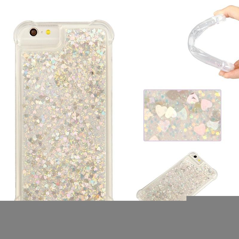 iPhone 6 Plus 6S Plus CaseDynamic Liquid Flowing Quicksand Love ... 69ac3aa94e95