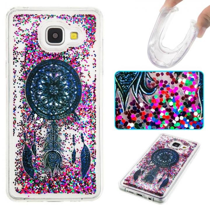 Samsung Galaxy A310 A3(2016) Case,Liquid Quicksand Transparent Soft TPU Silicone Case (pattern 4) For Galaxy A310 A3(2016)
