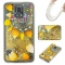 Samsung Galaxy S5 Case,Liquid Quicksand Floating Clear Soft TPU Protective Cover (pattern 9) For Samsung Galaxy S5