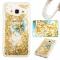 Samsung Galaxy J3/J310 Case,Liquid Quicksand Transparent Soft TPU Silicone Case  (pattern 3) For Samsung Galaxy J3/J310