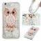 iPhone 6/6S Case,Liquid Quicksand Transparent Soft TPU Silicone Case  (pattern 8) For iPhone 6/6S
