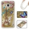 Samsung Galaxy J3/J310 Case,Liquid Quicksand Floating Clear Soft TPU Protective Cover (pattern 7) For Samsung Galaxy J3/J310