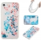 Iphone 7G/8G Case,Liquid Quicksand Floating Clear Soft TPU Protective Cover (pattern 10) For Iphone 7G/8G