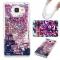 Samsung Galaxy A310 A3(2016) Case,Liquid Quicksand Transparent Soft TPU Silicone Case (pattern 2) For Galaxy A310 A3(2016)