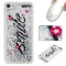 Apple iPod Touch 5/6 Case,Liquid Quicksand Floating Clear Soft TPU Protective Cover (pattern 1) For Apple iPod Touch 5/6