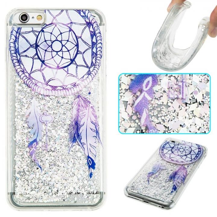 iPhone 6 plus Case,Liquid Quicksand Transparent Soft TPU Silicone Case  (pattern 6) For iPhone 6 plus