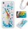 Iphone 7G/8G Case,Liquid Quicksand Floating Clear Soft TPU Protective Cover (pattern 6) For Iphone 7G/8G