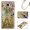 Samsung Galaxy A510/A5 2016 Case,Liquid Quicksand Floating Clear Soft TPU Protective Cover (pattern 7) For Galaxy A510/A5 2016
