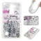 LG LS775 Case,Liquid Quicksand Floating Clear Soft TPU Protective Cover (pattern 2) For LG LS775