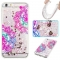 iPhone 6 plus Case,Liquid Quicksand Transparent Soft TPU Silicone Case  (pattern 7) For iPhone 6 plus