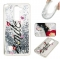 LG LS775 Case,Liquid Quicksand Floating Clear Soft TPU Protective Cover (pattern 1) For LG LS775