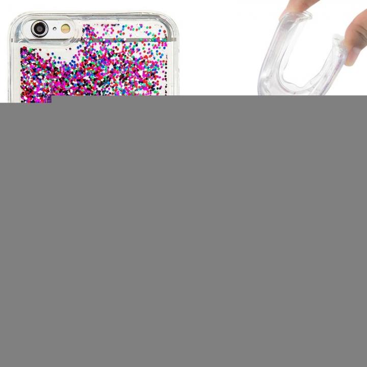 iPhone 6 plus Case,Liquid Quicksand Transparent Soft TPU Silicone Case  (pattern 2) For iPhone 6 plus