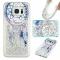 Samsung Galaxy S7 edge Case,Liquid Quicksand Transparent Soft TPU Silicone Case  (pattern 6) For Samsung Galaxy S7 edge