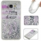 Samsung Galaxy A510/A5 2016 Case,Liquid Quicksand Floating Clear Soft TPU Protective Cover (pattern 2) For Galaxy A510/A5 2016