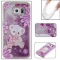 Samsung Galaxy S6 Case,Liquid Quicksand Floating Clear Soft TPU Protective Cover (pattern 4) For Samsung Galaxy S6