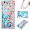 Huawei P9 Lite Case,Liquid Quicksand Floating Clear Soft TPU Protective Cover (pattern 10) For Huawei P9 Lite