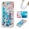 Iphone 5S 5C SE Case,Liquid Quicksand Floating Clear Soft TPU Protective Cover (pattern 10) For Iphone 5S 5C SE