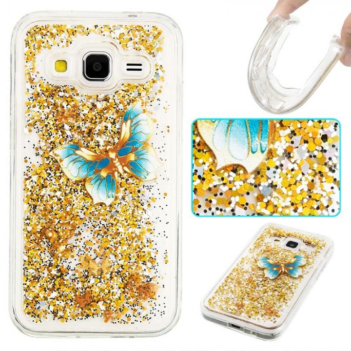 Samsung Galaxy Core Prime G360 Case,Liquid Quicksand Transparent Soft TPU Silicone Case  (pattern 3) For Galaxy Core Prime G360