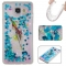 Samsung Galaxy A510/A5 2016 Case,Liquid Quicksand Floating Clear Soft TPU Protective Cover (pattern 6) For Galaxy A510/A5 2016
