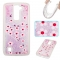 LG K7 K8 Case,Liquid Quicksand Floating Clear Soft TPU Protective Cover (pattern 3) For LG K7 K8